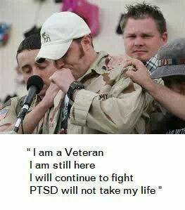 PTSD will not take my life